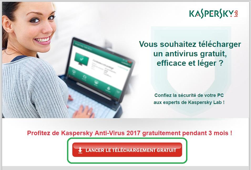 Hướng dẫn tải về Kaspersky Antivirus 2017 miễn phí có thời hạn