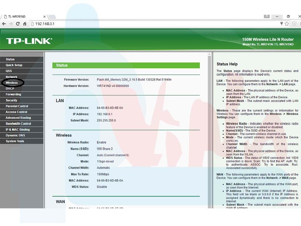 Hướng dẫn đổi pass wifi Tplink