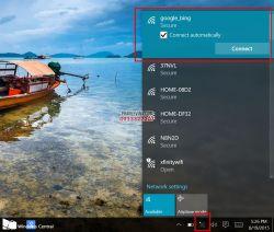 Hướng dẫn xóa mạng Wifi trên Windows 10 và macOS Sierra